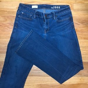 Gap sexy boot cut jeans 30r